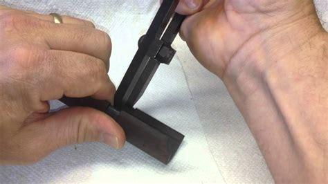 Removing M1 Garand Rear Handguard