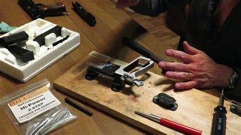 Removing The Fnbrowning High Power Trigger Pin