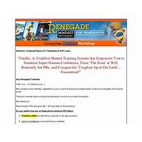 Renegade triathlete psychology programs