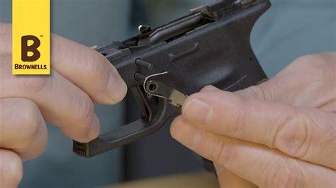 Replacing Glock 17 Slide Release