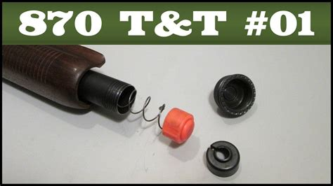Replacing The Spring Retainer With A Follower Remington 870 Tips Tricks 1