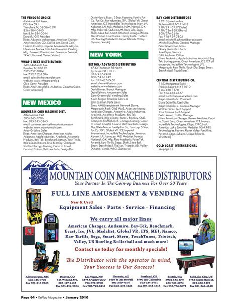 Replay Magazine S 2010 Directory Issue By Replay Magazine