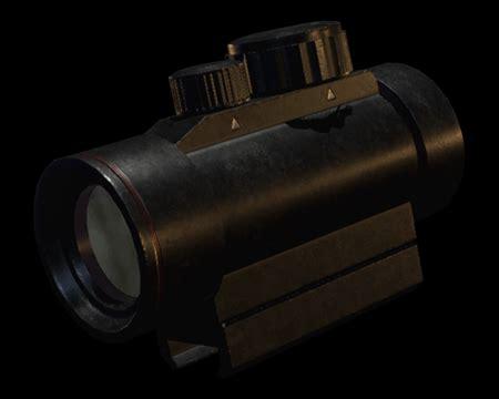 Resident Evil 2 Remake Red Dot Sight