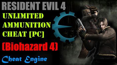 Resident Evil 4 Infinite Ammo Cheat