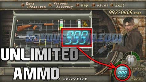 Resident Evil 4 Infinite Ammo Xbox One