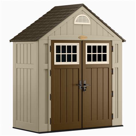 Resin storage sheds Image