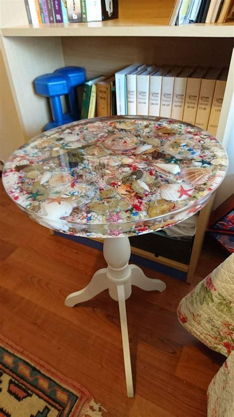 Resin table top diy Image