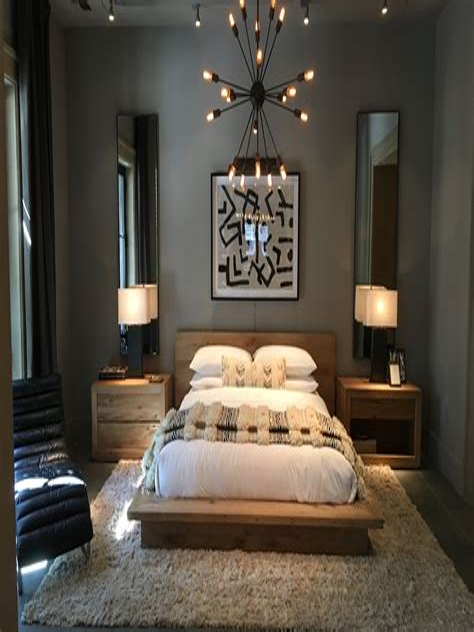 Restoration Hardware Inspired Bedroom