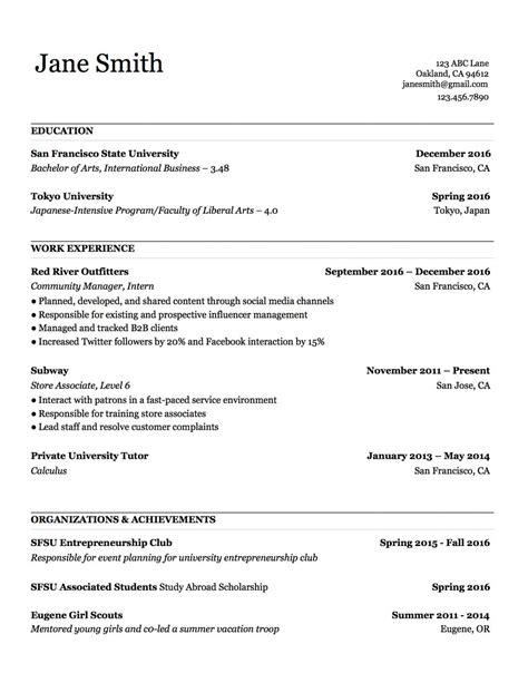 Resume Copy Paste Template | Resume Maker Online