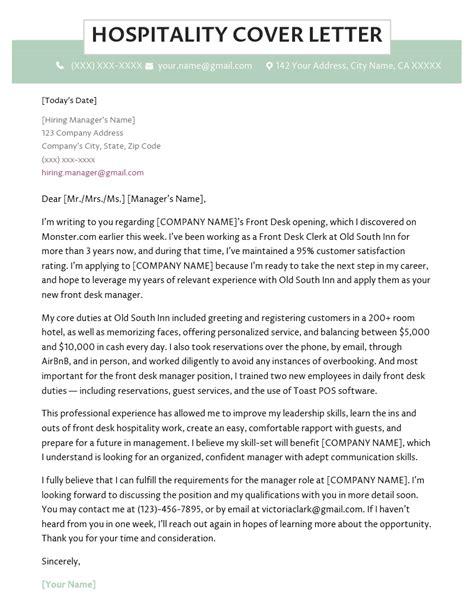 Cover letter hospitality tourism & Essay Writing Homework Help