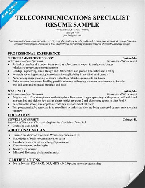 Resume Cover Letter For Telecom Engineer   Research Proposal ...