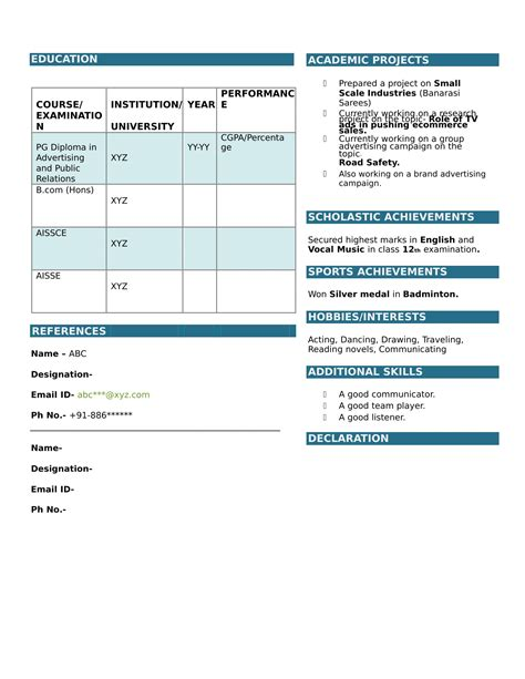 Resume For Freshers Bcom How To Write A Resume Doctor