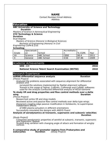 Resume Format Business Analyst Modelos De Curriculum Vitae 2016