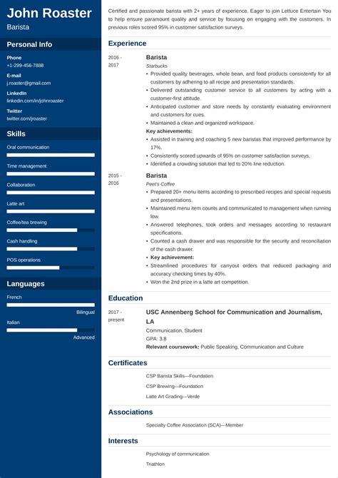 Resume Interests Job Application Letter Sample Format