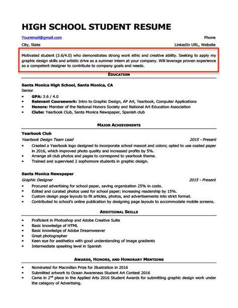 Resume Objective For Graduate School Sample Resume Cover Letter Use