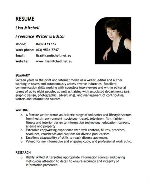 Resume Writer Freelance Jobs Writing A Resume On Microsoft Word