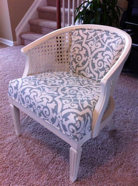 Reupholster chair diy Image