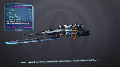 Rider Sniper Rifle Borderlands