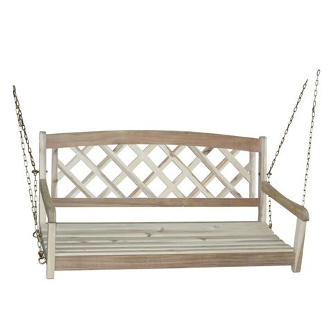 Ridgeland X-Back Porch Swing