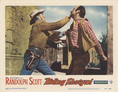 Riding Shotgun 1954 Full Movie