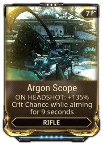 Rifle Argon Scope Warframe