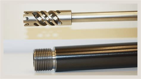 Rifle Barrel Threading