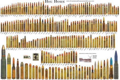 Rifle Bullet Calibers In Order Of Power
