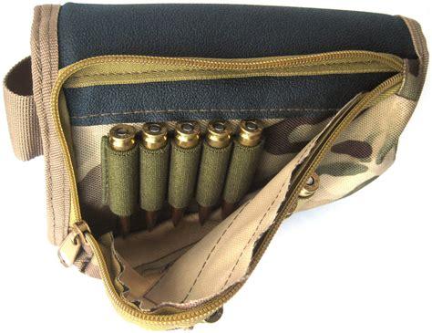 Rifle Butt Stock Ammo Pouch