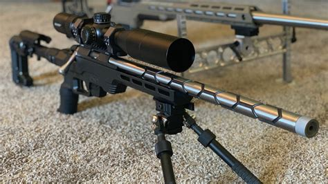Rifle Chassis Fully Bedded Barrel