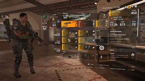 Rifle Damage Division 2 Work For Assault Rifle