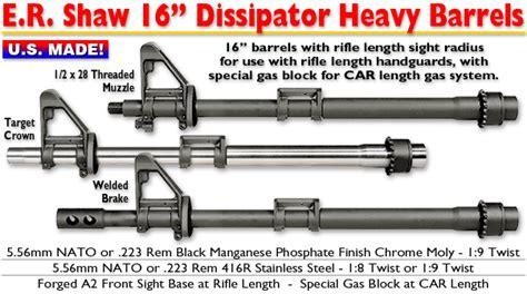 Rifle Gas System On 16 Barrel