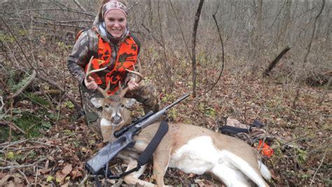 Rifle Hunting Deer In Ohio