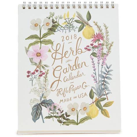 Rifle Paper Co Herb Garden Calendar