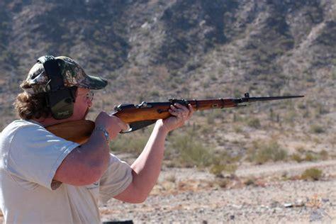 Rifle Qht Elbow Down Shooting