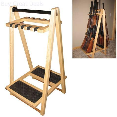 Rifle Racks With 10 Guns Ebay