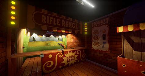 Rifle Range Room Hello Neighbor