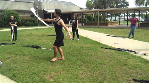 Rifle Routines For Color Guard