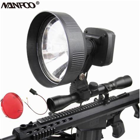 Rifle Scope Mounted Spotlight