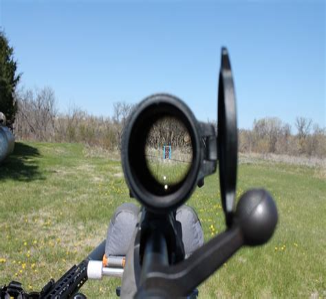 Rifle Scope Parallax Error