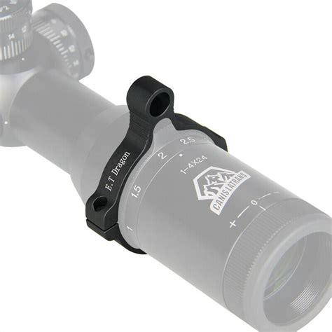 Rifle Scope Power Ring Lever