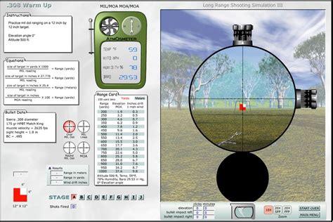 Rifle Scope Simulation