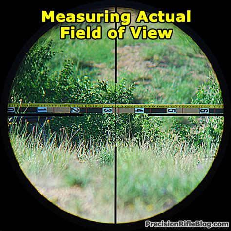 Rifle Scope With Best Field Of View