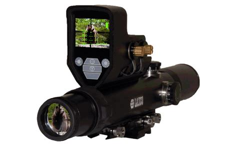 Rifle Scope With Built In Video Camera