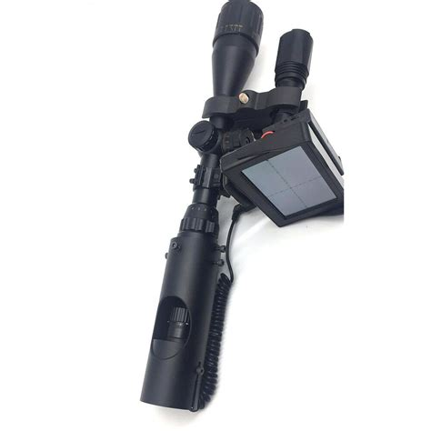 Rifle Scope With Lcd Screen