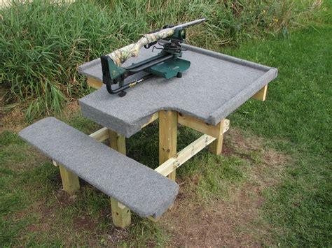 Rifle Shooting Bench Plans
