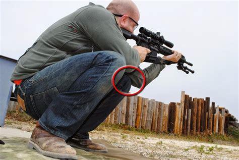 Rifle Shooting Squatting Position