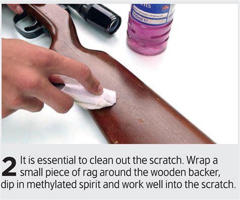 Rifle Stock Scratch Repair
