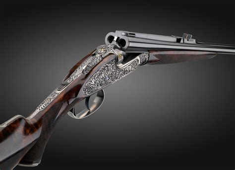 Rifle With Two Barrels