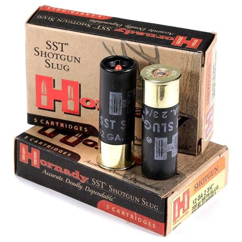 Rifled Barrel Shotgun Ammo