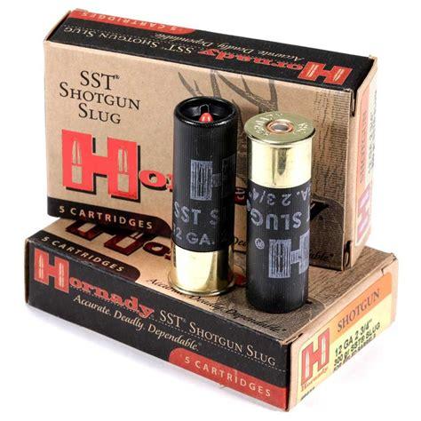 Rifled Shotgun Barrel Ammo